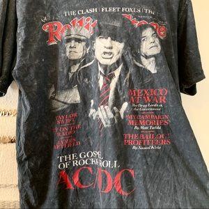 Tops - AC/DC • Rolling Stone Magazine Tee